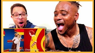 65370e8f Ronald McDonald vs The Burger King | Epic Rap Battles of History REACTION!