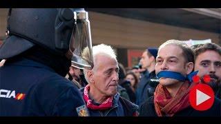El Estado policial español al descubierto