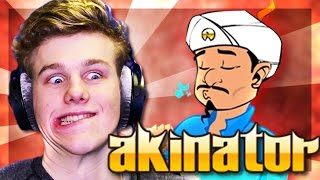 HOW DOES HE KNOW?! | Akinator w/ Lachlan