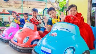 Kids Go To School | Chuns With Best Friends Play In Fairy Garden The Children's City Toys
