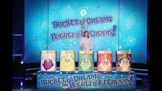 Adorable Ellen Fan Gets Lucky with 'Bucket o' Dreams or Bucket o' Ice Creams'