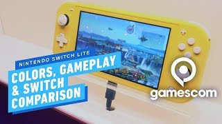 Nintendo Switch Lite Is Here! All Colors, Gameplay, and Switch Comparison - Gamescom 2019