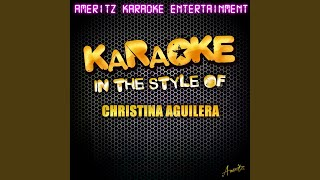 When You Put Your Hands On Me (In the Style of Christina Aguilera) (Karaoke Version)