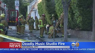 Two Dead, 3 Hurt In Music Studio Blaze In University City