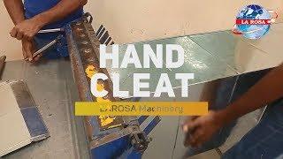 Hand Cleat Bender Machine - LAROSA Machinery
