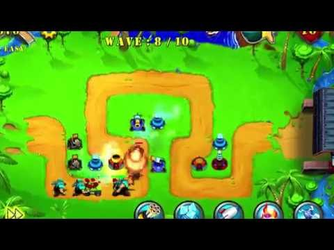 Tower Defense : Epic War Video