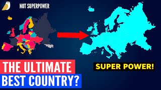 What If Whole European Continent Was Just ONE Country?