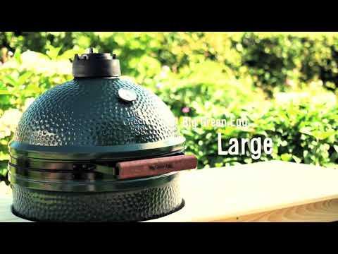 O noua gama trendy la PEFOC: cuptoarele ceramice Big Green Egg