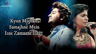 Piya Tu Piya (LYRICS) - Arijit Singh, Chinmayi   - YouTube