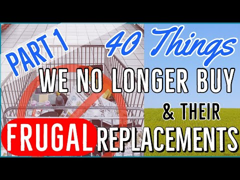Download 💵40 Things We No Longer Buy & Their Frugal Replacements Part 1 | Frugal Living Tips 💕YT Milestone HD Mp4 3GP Video and MP3
