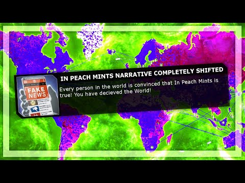 Deceiving All Of Humanity With Overwhelming Fake News in Plague Inc Evolved