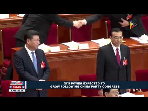 GLOBAL NEWS: Xi's power expected to grow following China party congress