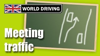 Meeting Traffic Driving Lesson - Clutch Control & Meeting Traffic