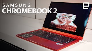 Samsung Galaxy Chromebook 2 first look at CES 2021