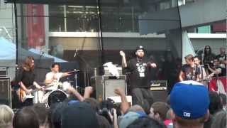 Fucked Up - Queen of Hearts (Yonge & Dundas Square NXNE - Toronto, Ontario - June 16, 2011)