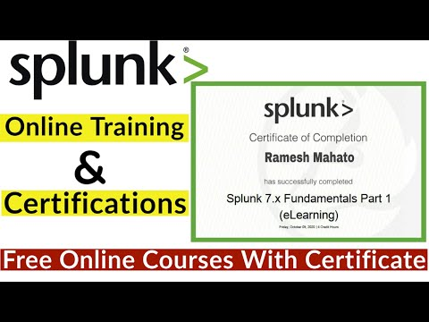 Splunk Fundamentals Part 1 Free Courses with Certificate - YouTube