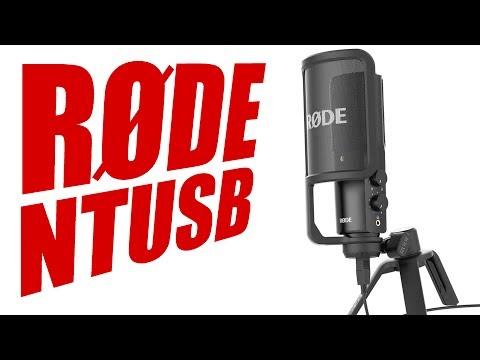 Mikrofon Test Rode NT USB Review Klangtest 2017