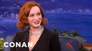 Christina Hendricks On The Fashion Of Mad Men - CONAN On TBS