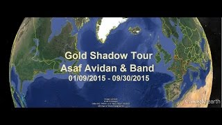 Asaf Avidan - Gold Shadow Tour 2015 - Ode To My Thalamus + Little Parcels