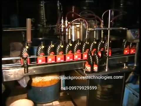 Automatic Lubricant Engine Oil Filling Machine