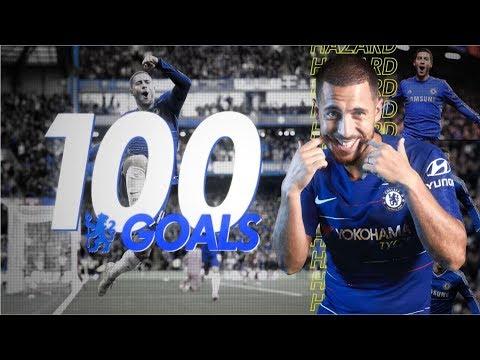 #HAZARD SCORES 100 CHELSEA GOALS!
