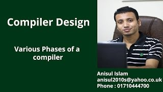 Compiler Design Bangla Tutorial 3 : Various Phases of a compiler