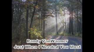 Just When I Needed You Most   Randy VanWarmer (with Lyrics)