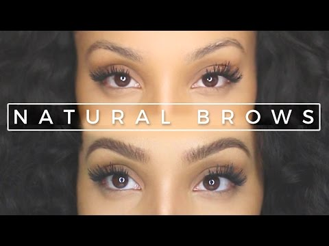 How to Get Natural-looking Eyebrows with Makeup | UPDATED