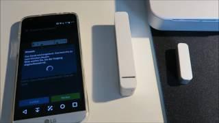 Bosch Smart Home - Einrichtung des Tür-/Fensterkontakts