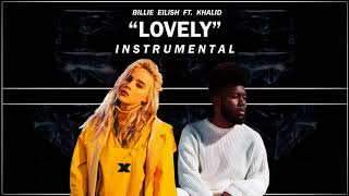 Billie Eilish   Lovely (with Khalid) Instrumental
