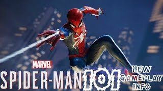 Spider-Man PS4: 101 - NEW Gameplay Info!!! DYNAMIC Boss Battles, NO Playable Villains, & More!!!