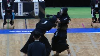 2019 서울 전국체전 검도경기 고등부 서울선발 VS 대구선발