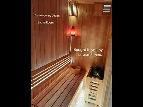 Designer Sauna Steam Room