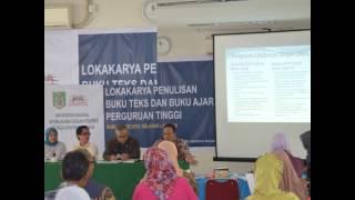 Universitas Nasional – Lokakarya Penulisan Buku Teks dan Buku Ajar Perguruan Tinggi