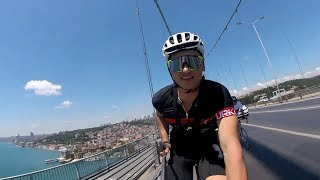 Bisikletle 15:43 Dk 432 Km - 100.000 ABONE ÖZEL !