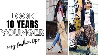6 Style Tips To Look 10 Years Younger (Over 40) - fashion trends 2020