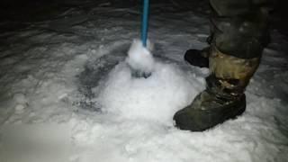 Пластиковая торпеда для протяжки сетей под лёд от компании Затарься по полной! - видео