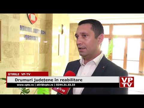 Drumuri județene în reabilitare