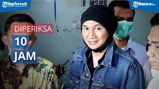 Musisi Anji Diperiksa 10 Jam di Polda Metro Jaya, Terima 45 Pertanyaan dari Penyidik