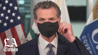 Newsom and former California governors urge Californians to wear face masks