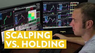 [LIVE] Day Trading   Strategy Fight: Scalping vs. Holding (Weekend Withdrawal)