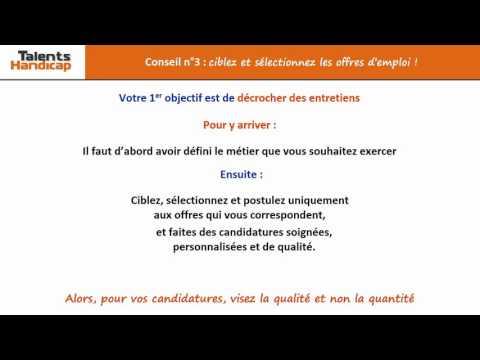 Video Conseil n°3 ciblez et sélectionnez les offres!