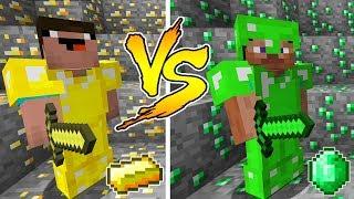 Download Video MINECRAFT - NOOB VS PRO: GOLD or EMERALD BATTLE in Minecraft MP3 3GP MP4