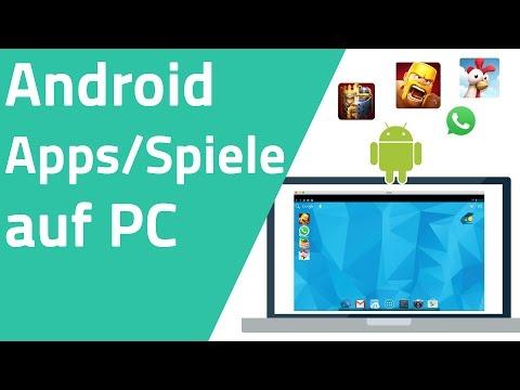 Android Apps/Spiele auf PC installieren und spielen (Clash of Clans...)