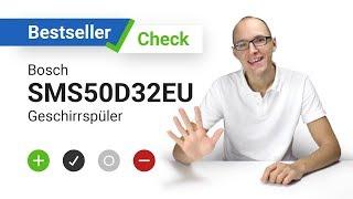 Bosch Sms50d32eu Freistehender Geschirrspuler A 12 Massgedecke