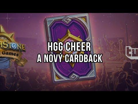 HGG cheer a nový cardback