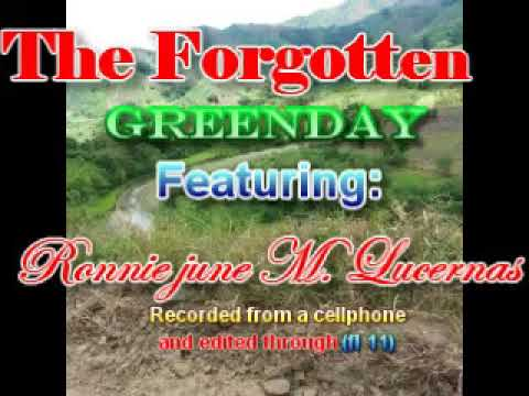 the forgotten by greenday featuring ronnie june m. lucernas