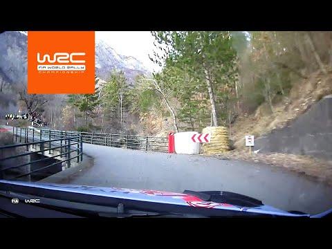 2020年WRC第1戦ラリーモンテカルロ ヌービルがドライブするヒュンダイi20クーペWRCオンボード映像
