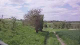 preview picture of video 'Winterbourne Stoke to Shrewton (Byway, S-N)'