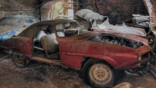 Belgium: Forgotten Alfa Cars Found then Rescued!
